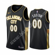 Oklahoma City Thunder Basket Tröja 2019-20 Svart City Edition Swingman..