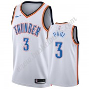 Oklahoma City Thunder Basket Tröja 2019-20 Chris Paul 3# Vit Association Edition Swingman..