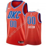 Oklahoma City Thunder Basket Tröja 2019-20 Orange Statement Edition Swingman..