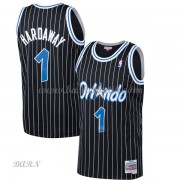 Barn NBA Tröja Orlando Magic 1994-95 Penny Hardaway 1# Svart Hardwood Classics..