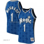 Barn NBA Tröja Orlando Magic 2001-02 Tracy McGrady 1# Blue Hardwood Classics..