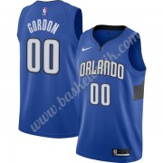 Orlando Magic Basket Tröja 2019-20 Aaron Gordon 00# Blå Finished Statement Edition Swingman..