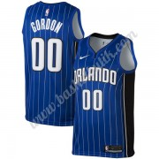 Orlando Magic Basket Tröja 2019-20 Aaron Gordon 00# Blå Icon Edition Swingman..