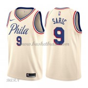 Barn NBA Tröja Philadelphia 76ers 2018 Dario Saric 9# City Edition..