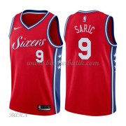 Barn NBA Tröja Philadelphia 76ers 2018 Dario Saric 9# Statement Edition..