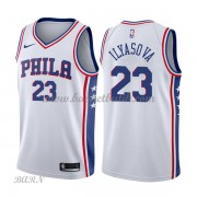 Barn NBA Tröja Philadelphia 76ers 2018 Ersan Ilyasova 23# Association Edition..