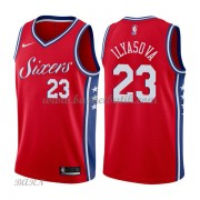Barn NBA Tröja Philadelphia 76ers 2018 Ersan Ilyasova 23# Statement Edition..