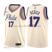 Barn NBA Tröja Philadelphia 76ers 2018 J.J. Redick 17# City Edition..