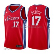 Barn NBA Tröja Philadelphia 76ers 2018 J.J. Redick 17# Statement Edition..