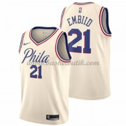 Philadelphia 76ers Basket Tröja 2018 Joel Embiid 21# City Edition..