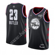 Philadelphia 76ers 2019 Jimmy Butler 23# Svart All Star Game NBA Basketlinne Swingman..