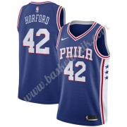Philadelphia 76ers Basket Tröja 2019-20 Al Horford 42# Blå Icon Edition Swingman..