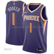 Barn NBA Tröja Phoenix Suns 2018 Devin Booker 1# Icon Edition..