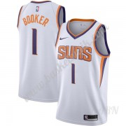 Barn NBA Tröja Phoenix Suns 2019-20 Devin Booker 1# Vit Association Edition Swingman..