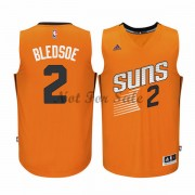 Phoenix Suns Basket Tröja Eric Bledsoe 2# Orange Alternate..