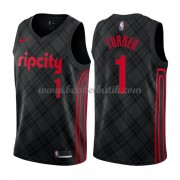 Portland Trail Blazers Basket Tröja 2018 Evan Turner 1# City Edition..