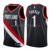 Portland Trail Blazers Basket Tröja 2018 Evan Turner 1# Icon Edition..