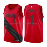 Portland Trail Blazers Basket Tröja 2018 Evan Turner 1# Statement Edition..