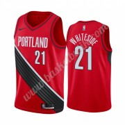Portland Trail Blazers Basket Tröja 2019-20 Hassan Whiteside 21# Röd Statement Edition Swingman..