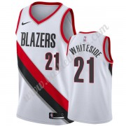 Portland Trail Blazers Basket Tröja 2019-20 Hassan Whiteside 21# Vit Association Edition Swingman..