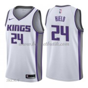Barn NBA Tröja Sacramento Kings 2018 Buddy Hield 24# Association Edition..