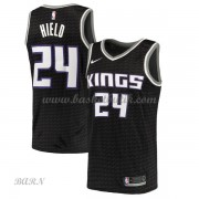 Barn NBA Tröja Sacramento Kings 2018 Buddy Hield 24# Statement Edition..