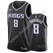 Barn NBA Tröja Sacramento Kings 2019-20 Bogdan Bogdanovic 8# Svart Statement Edition Swingman..