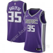Barn NBA Tröja Sacramento Kings 2019-20 Marvin Bagley III 35# Lila Icon Edition Swingman..