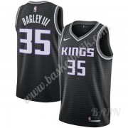 Barn NBA Tröja Sacramento Kings 2019-20 Marvin Bagley III 35# Svart Statement Edition Swingman..