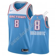Sacramento Kings Basket Tröja 2019-20 Bogdan Bogdanovic 8# Blå City Edition Swingman..