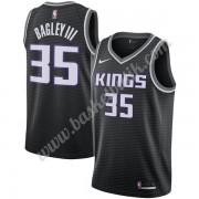 Sacramento Kings Basket Tröja 2019-20 Marvin Bagley III 35# Svart Statement Edition Swingman..