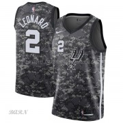 Barn NBA Tröja San Antonio Spurs 2018 Kawhi Leonard 2# City Edition..