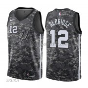 Barn NBA Tröja San Antonio Spurs 2018 LaMarcus Aldridge 12# City Edition..
