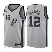 Barn NBA Tröja San Antonio Spurs 2018 LaMarcus Aldridge 12# Statement Edition..