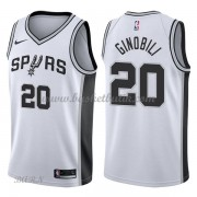 Barn NBA Tröja San Antonio Spurs 2018 Manu Ginobili 20# Association Edition..
