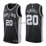 Barn NBA Tröja San Antonio Spurs 2018 Manu Ginobili 20# Icon Edition..