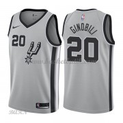 Barn NBA Tröja San Antonio Spurs 2018 Manu Ginobili 20# Statement Edition..