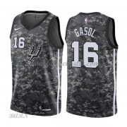 Barn NBA Tröja San Antonio Spurs 2018 Pau Gasol 16# City Edition..