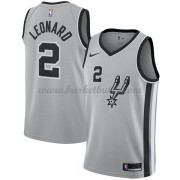 San Antonio Spurs Basket Tröja 2018 Kawhi Leonard 2# Statement Edition..