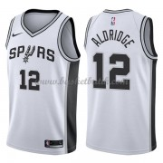 San Antonio Spurs Basket Tröja 2018 LaMarcus Aldridge 12# Association Edition..