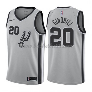San Antonio Spurs Basket Tröja 2018 Manu Ginobili 20# Statement Edition