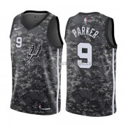San Antonio Spurs Basket Tröja 2018 Tony Parker 9# City Edition..