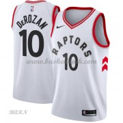 Barn NBA Tröja Toronto Raptors 2018 DeMar DeRozan 10# Association Edition..