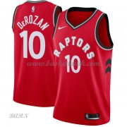 Barn NBA Tröja Toronto Raptors 2018 DeMar DeRozan 10# Icon Edition..