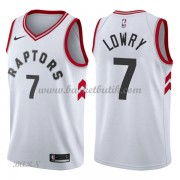 Barn NBA Tröja Toronto Raptors 2018 Kyle Lowry 7# Association Edition..
