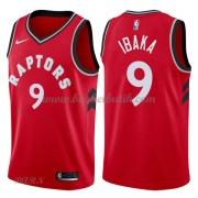 Barn NBA Tröja Toronto Raptors 2018 Serge Ibaka 9# Icon Edition..