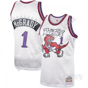 Barn NBA Tröja Toronto Raptors 1998-99 Tracy McGrady 1# Platinum Hardwood Classics Swingman..