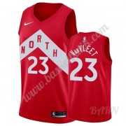 Barn NBA Tröja Toronto Raptors 2019-20 Fred VanVleet 23# Röd Earned Edition Swingman..