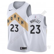 Barn NBA Tröja Toronto Raptors 2019-20 Fred VanVleet 23# Vit City Edition Swingman..