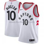 Toronto Raptors Basket Tröja 2018 DeMar DeRozan 10# Association Edition..